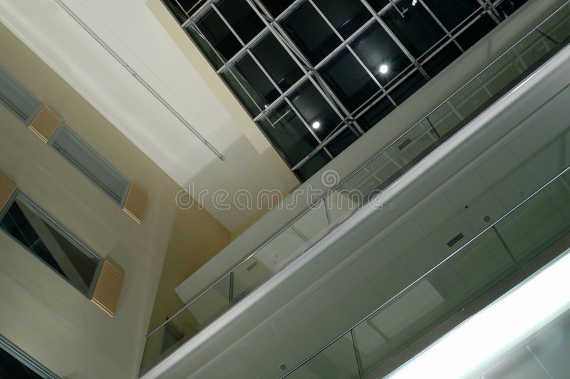 Download Inner courtyard stock photo. Image of modern, hallway, architecture - 41188