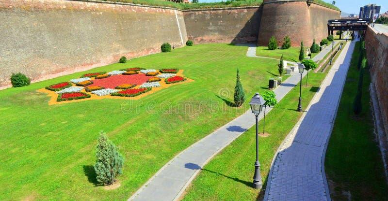 Inner courtyard of Alba Iulia citadel #5. Image of the inner courtyard of Alba Iulia citadel in Alba Iulia city stock photos