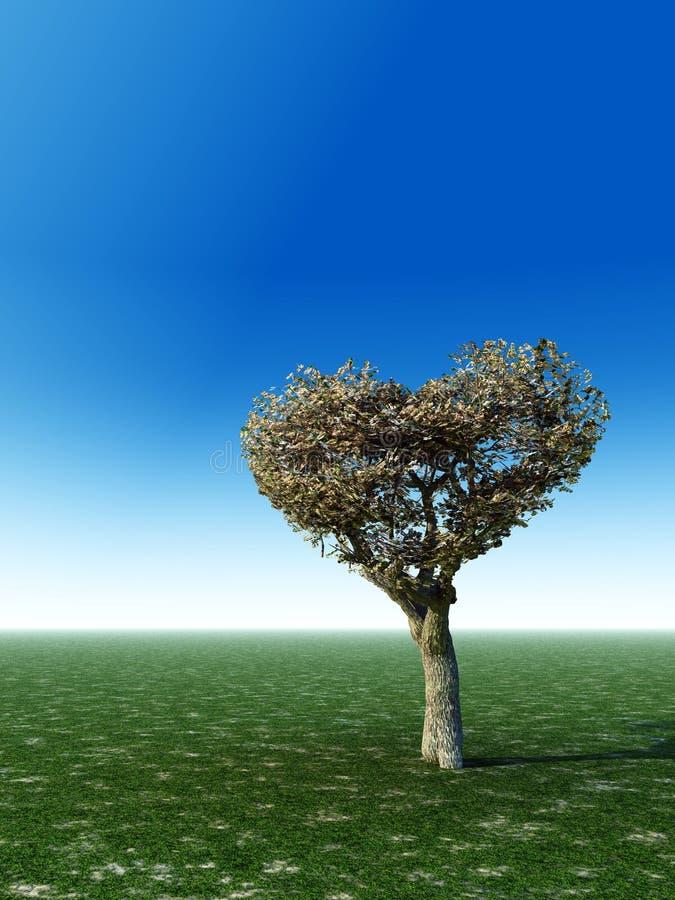 Inner-Form-Baum stock abbildung