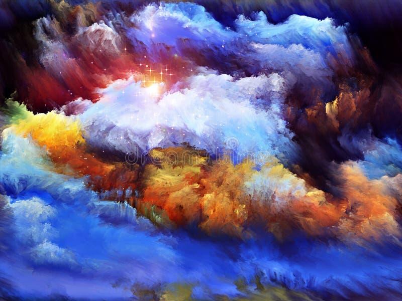 Download Inner Life of Dream stock illustration. Illustration of backdrop - 26022302