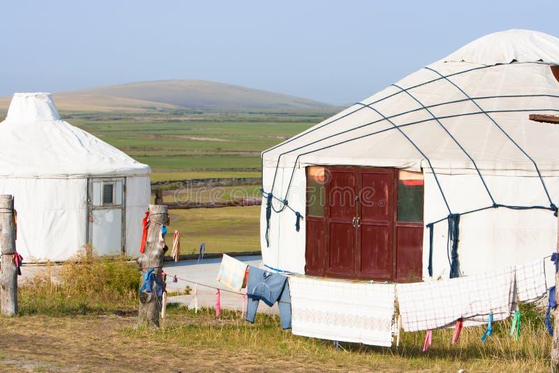 Inner Mongolia Jinzhanghan que viaja a la tribu foto de archivo libre de regalías