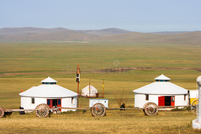 Inner Mongolia Jinzhanghan Touring Tribe royalty free stock images