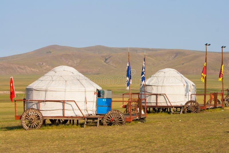 Inner Mongolia Jinzhanghan Touring Tribe stock photography