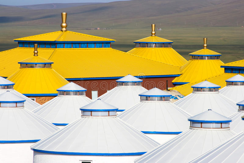 Inner Mongolia Yurt foto de stock