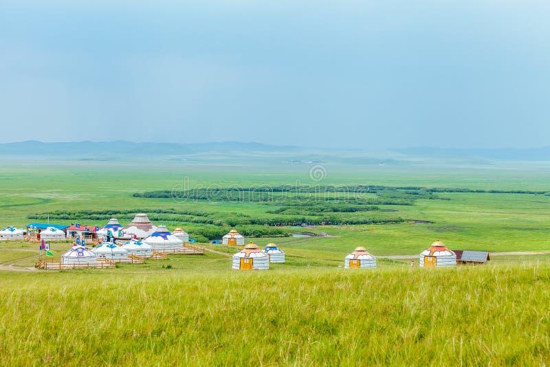 Inner Mongolia Yurt stock photos