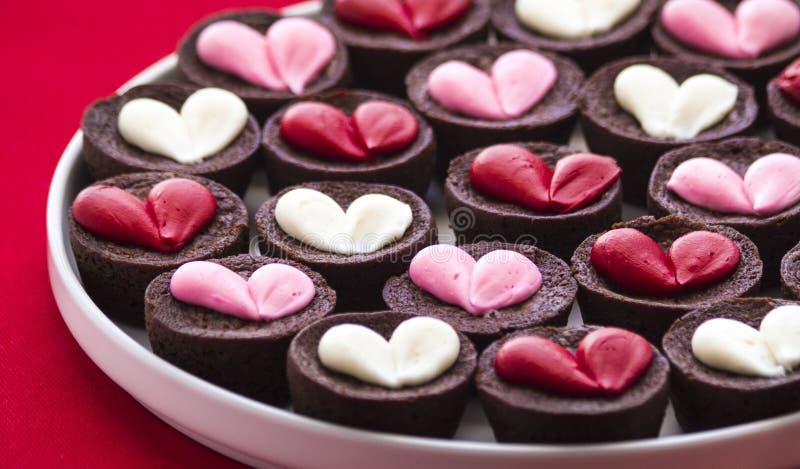 Inner-Schokoladenkuchen lizenzfreie stockfotografie