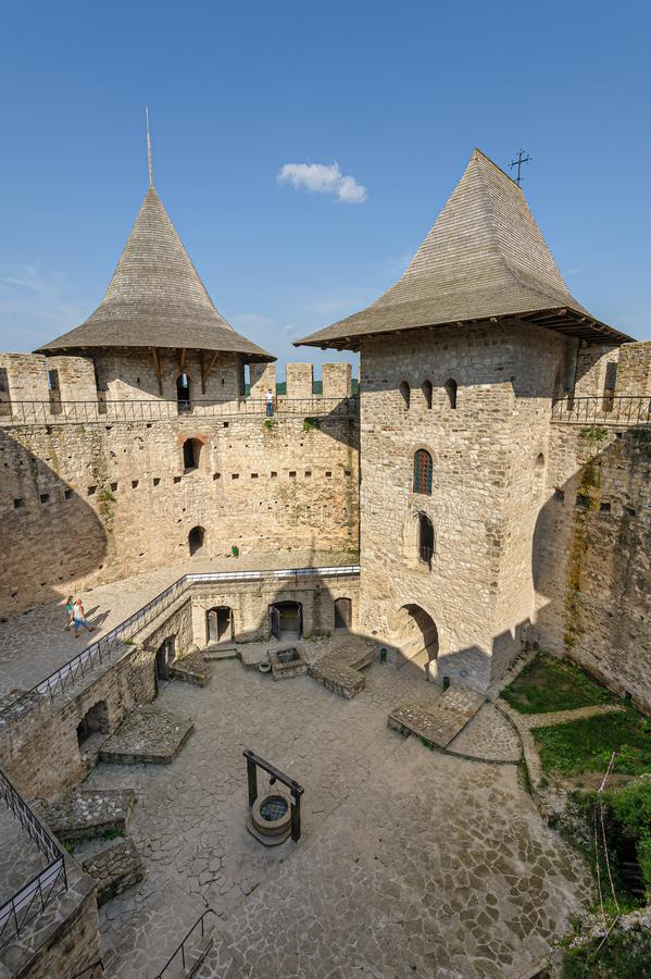 Free Inner Space Of Medieval Fortress In Soroca, Republic Of Moldova Stock Image - 152715711
