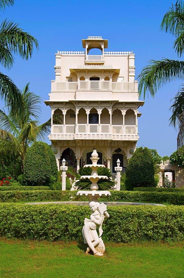 Inner view of Champaner heritage resort, Halol, Gujarat royalty free stock photo