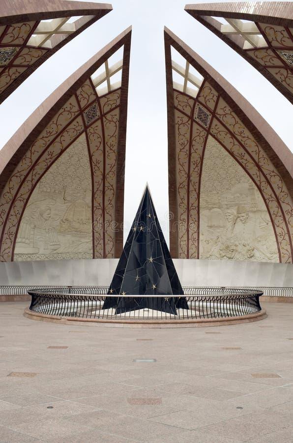 Pakistan-Monument Islamabad stockfotografie