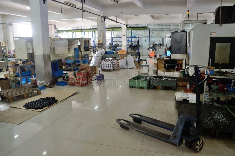 Innere chinesische Fabrik in Changzhou lizenzfreie stockfotografie
