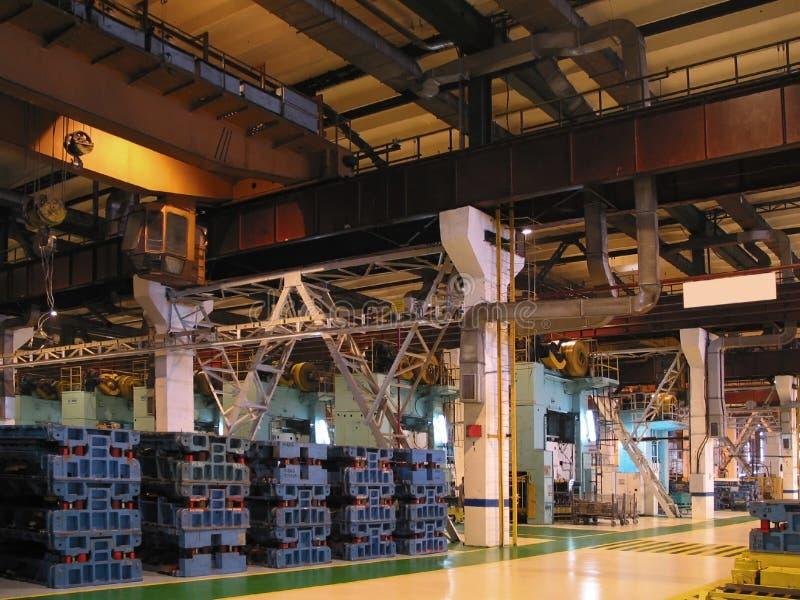 Innere Fabrik lizenzfreie stockbilder