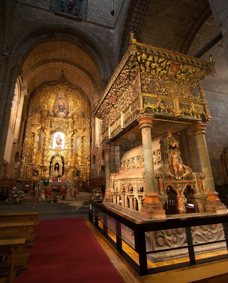 Innere Kathedrale stockbild