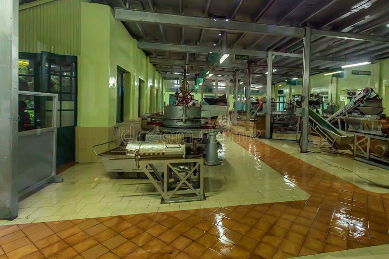 Innere Teefabrik lizenzfreie stockbilder
