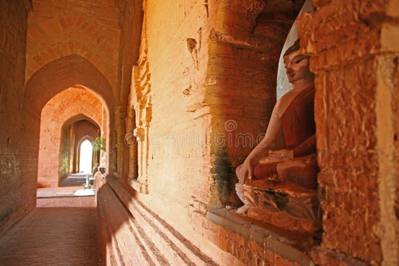 Innerer Bagan Buddhist-Tempel stockfoto
