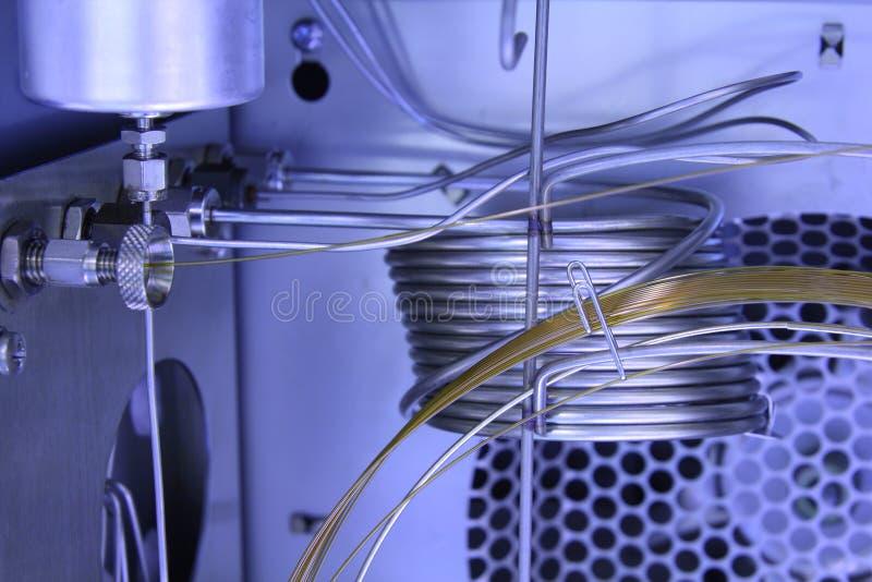 Innerer Gaschromatographie-Analysator. lizenzfreie stockfotos