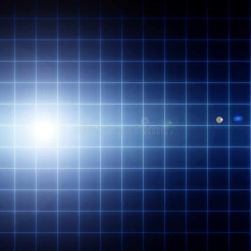 Inneres Überwachungsgerät vektor abbildung