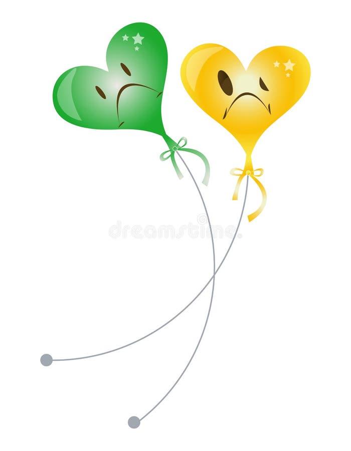 Inneres Ballons vektor abbildung