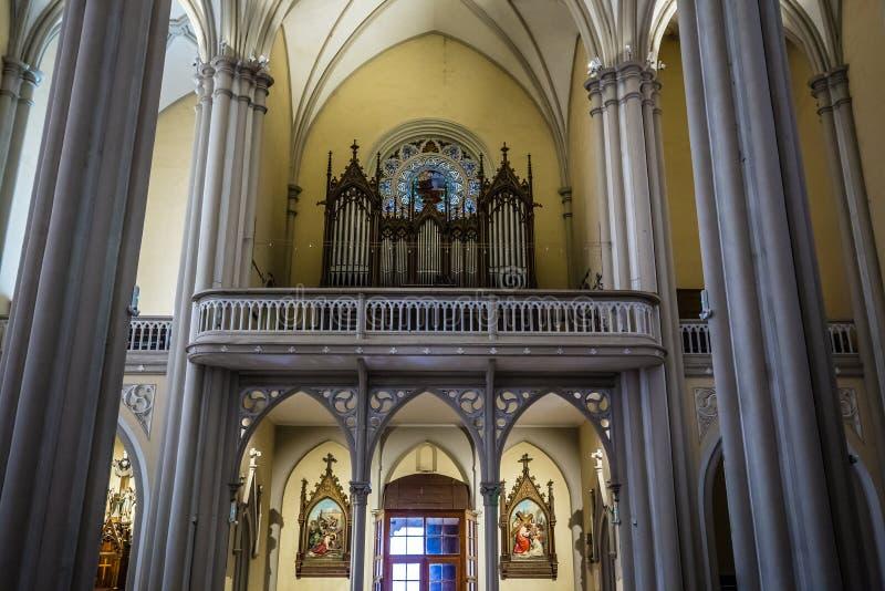 Inneres der Maria Kirche - Serbien, Europa lizenzfreies stockbild