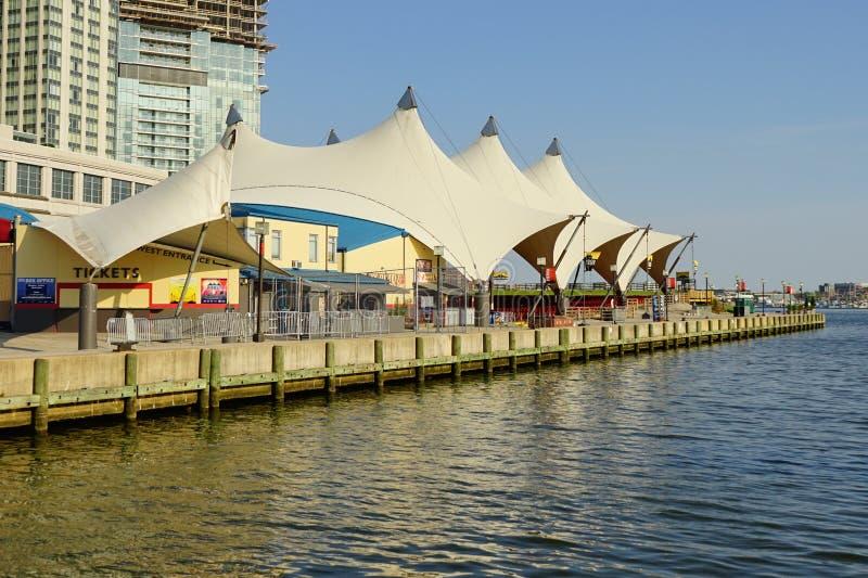 Inneres Hafentheater Baltimores stockfotografie