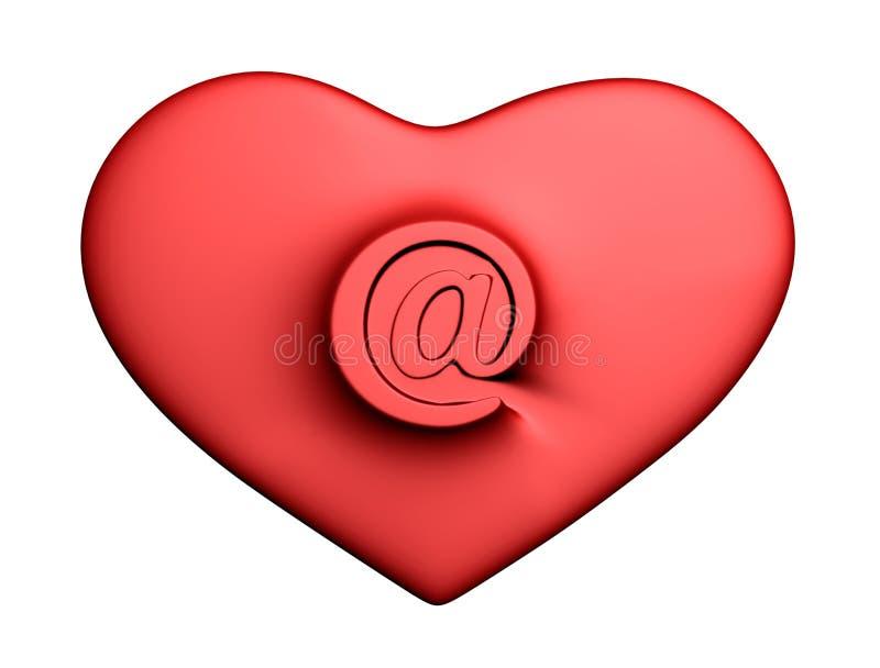 Herz mit Post