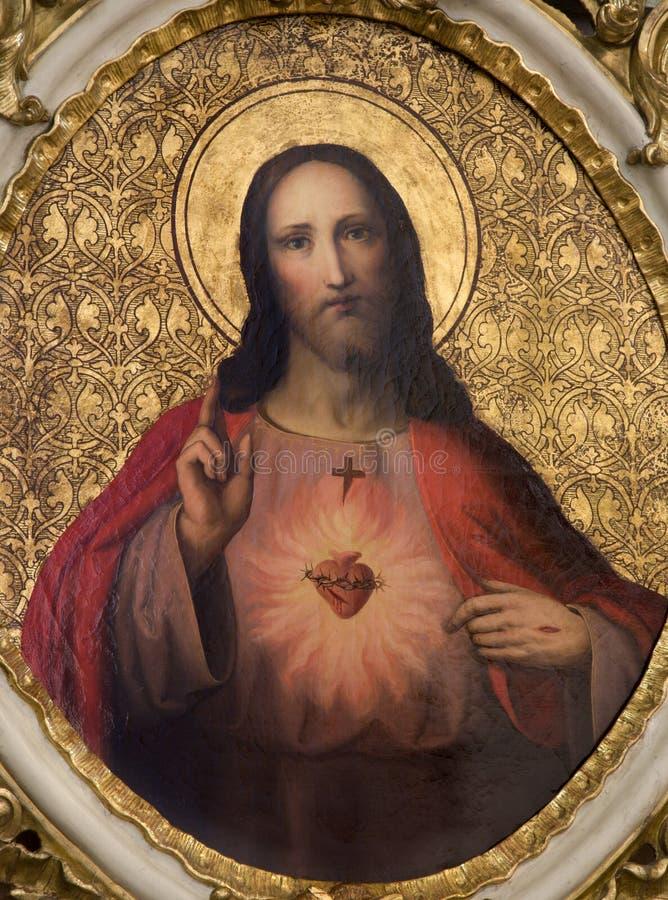 Inneres von Jesus lizenzfreies stockfoto