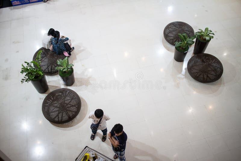 Inneres zentrales Festival Chiang Mai stockfotos