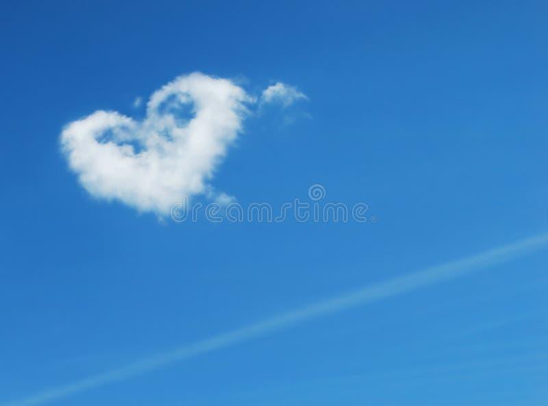 Innerform im Himmel stockfoto