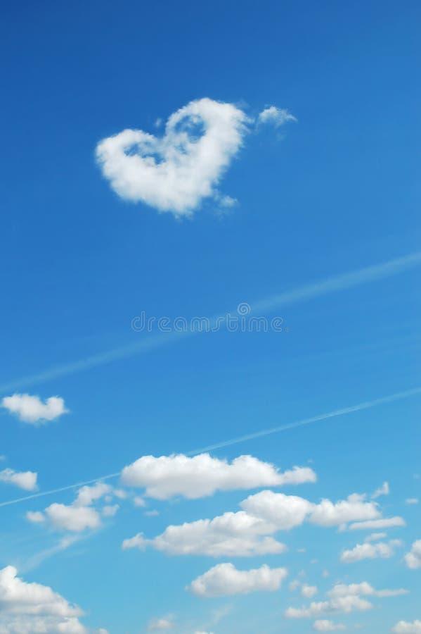 Innerform im Himmel stockbild