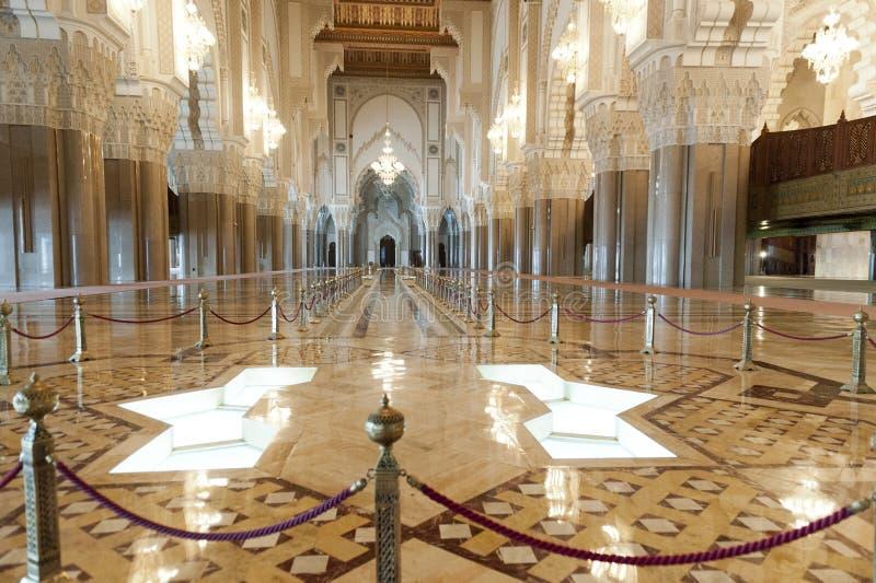 Moschee König-Hassan II in Casablanca, Marokko stockfotografie