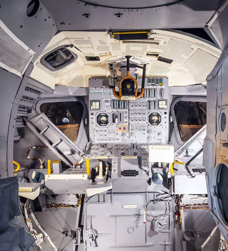 Innerhalb der Raumschiffentdeckung lizenzfreie stockfotos