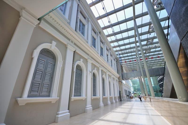 Innerhalb des Nationalmuseums von Singapur lizenzfreies stockbild