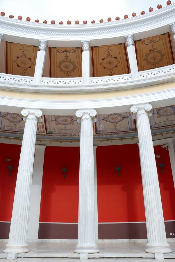 Innerhalb des zappeion Athen stockbild