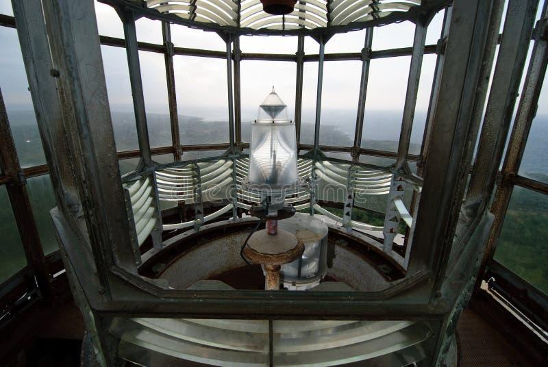 Innerhalb eines Leuchtturmes lizenzfreie stockfotos