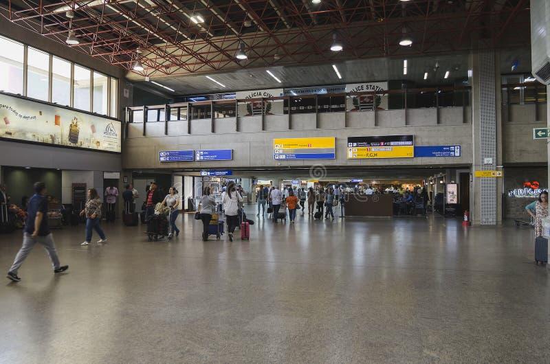Innerhalb GRU-Flughafens Guarulhos stockfotos