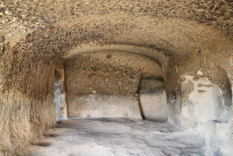 Innerhalb Selime-Klosters in Cappadocia, die Türkei lizenzfreie stockfotografie