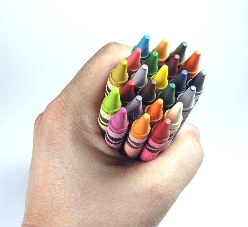 Download Innestare i pastelli immagine stock. Immagine di coloring - 221791