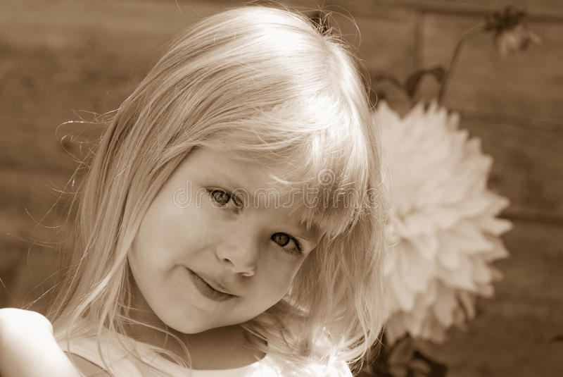 Innocence stock photography