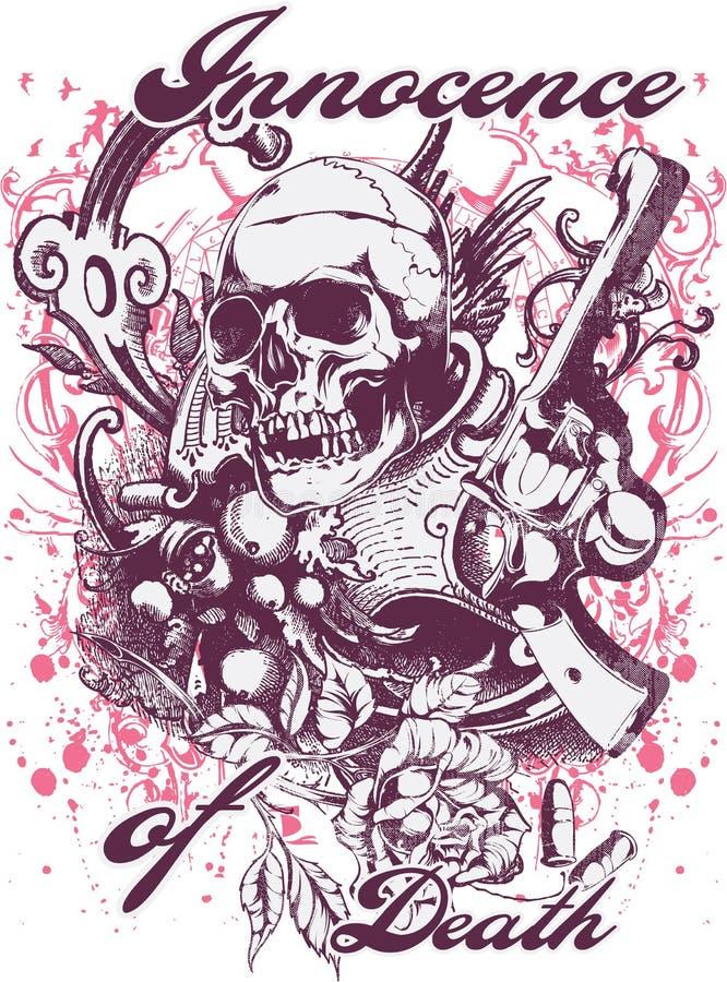 Innocence de la mort illustration de vecteur
