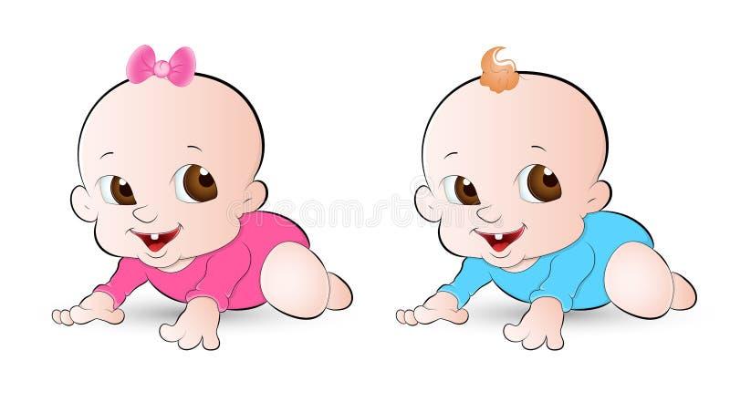 Download Innocent Babies stock vector. Illustration of illustration - 24339149