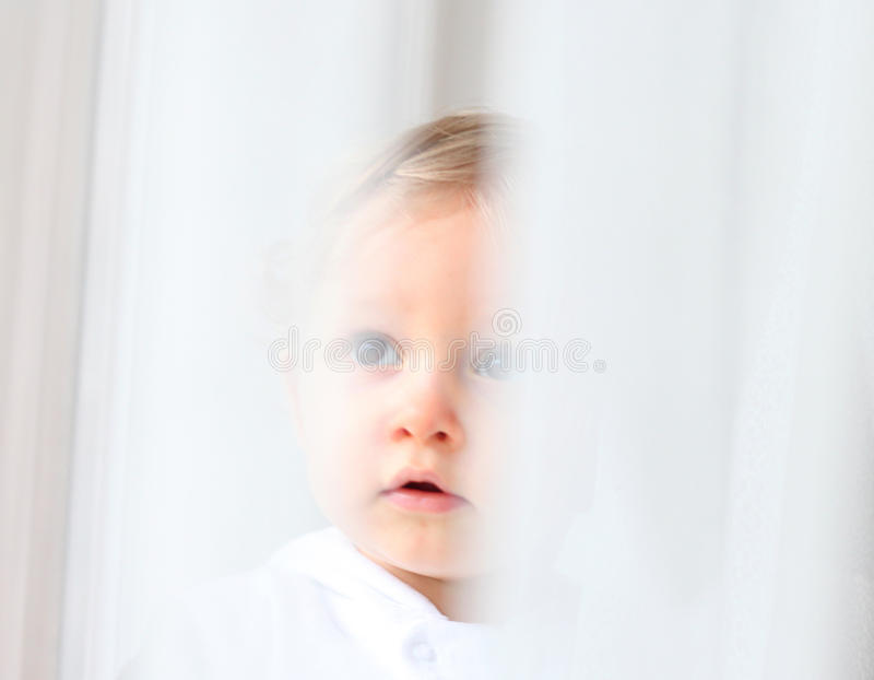 Download Innocent baby stock image. Image of thoughtful, caucasian - 38145501