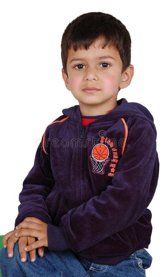 Innocent boy stock image