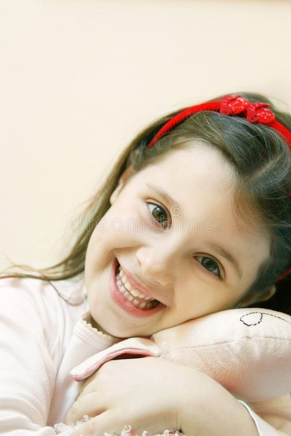 Innocent girl royalty free stock photo