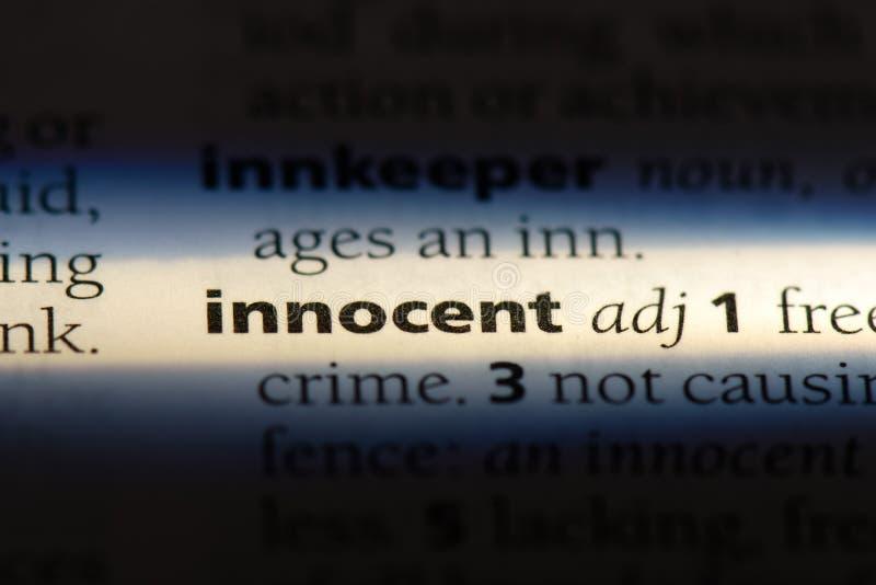 innocent stock image