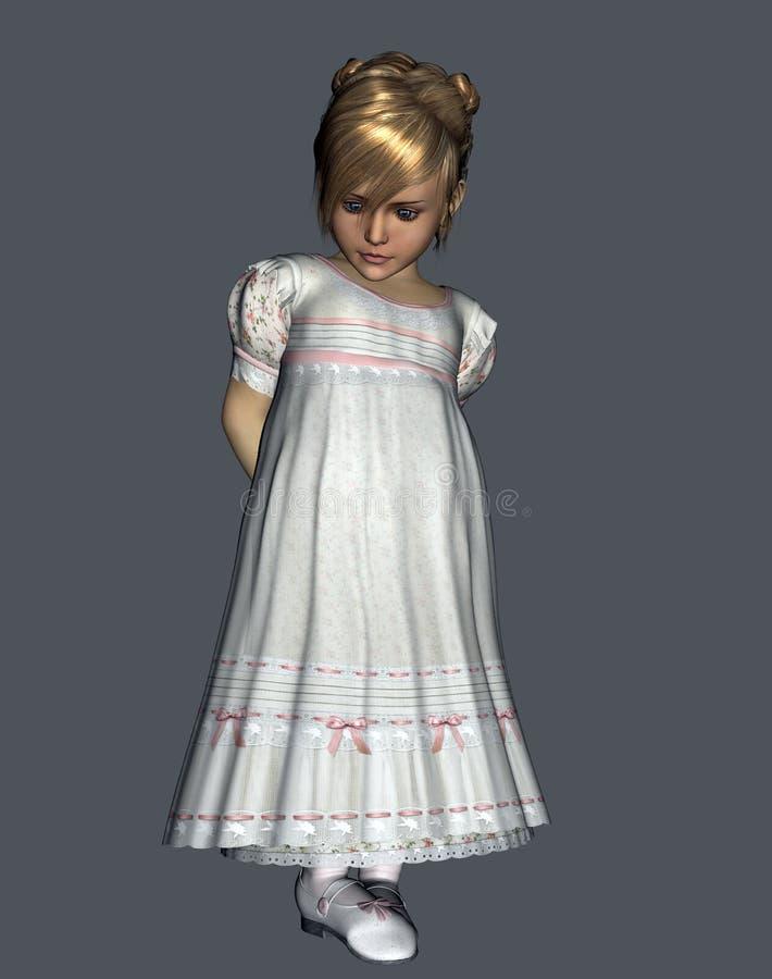 Innocent little girl stock images
