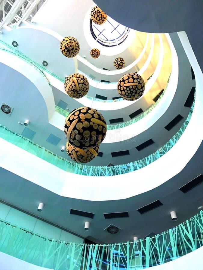 Innopolis Деревянные шарики стоковые изображения rf