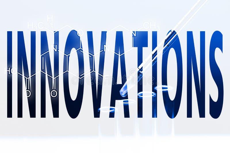 Innovación de la palabra ilustración del vector
