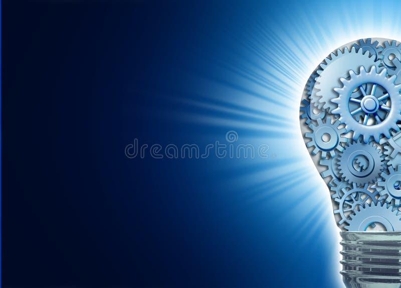 Innovación e ideas ilustración del vector