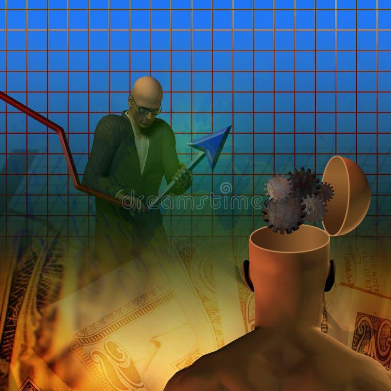 Innovate success royalty free illustration