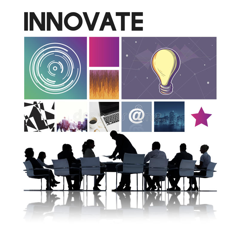 Innovate Technology Cyberspace Network Concept. Innovate Technology Cyberspace Network Ideas stock photography