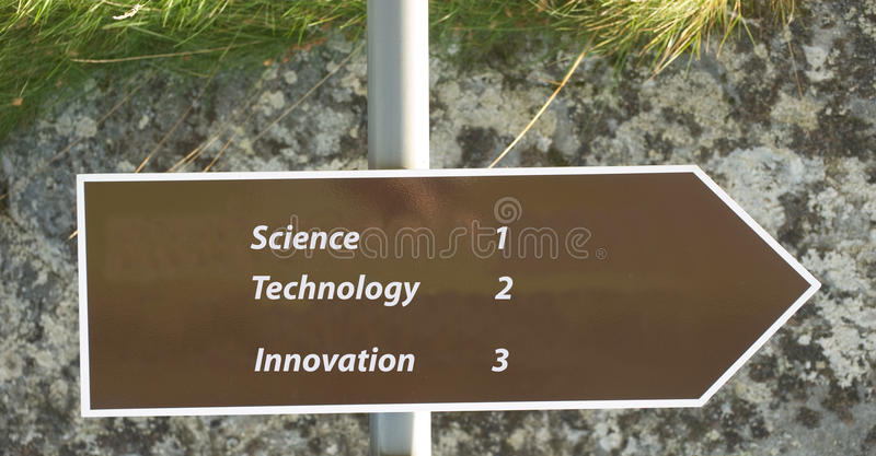 Innovatie. royalty-vrije stock afbeelding